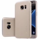 Review Tentang Samsung Galaxy S7 Flat Case Original Nillkin Frosted Shield Gold