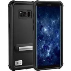 Samsung GALAXY S8 Waterproof Case, Outdoor IP68 Bersertifikat Penuh Tutup Proteksi Sepenuhnya, Clear Sound Shockproof Dirtproof Snowproof Cover dengan Sidik Jari Menyentuh untuk Galaxy S 8-Intl
