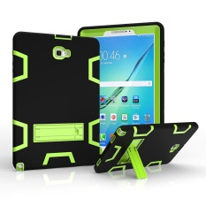 Samsung Galaxy Tab A 10.1 with S pen Case, 3in1 Combo Hybrid Heavy Duty Armor Full-body Holster Rugged Defender Protective Kickstand Case for Samsung Tab A 10.1 with S Pen SM-P580/P585 - intl