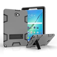 Samsung Galaxy Tab A 10.1 dengan S Pen Case, 3in1 Full-body Shock Proof Hybrid Heavy Duty Pelindung Armor, Silicone Skin Hard Plastic Case untuk Samsung Tab A 10.1 dengan S Pen P580/P585-Intl