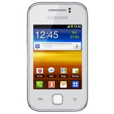 Jual Samsung Galaxy Y S5360 160 Mb White Di Indonesia