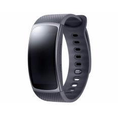 Samsung Gear Fit2 SM-R360 GPS Olahraga Smart Band Jam Tangan Kebugaran Pelacak Aktivitas (Hitam-Besar)