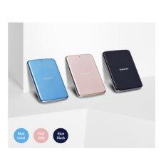 [SAMSUNG] H3 Portabel Eksternal Hard Disk Drive HDD USB 3.0 500 GB Berwarna Merah Muda Emas-internasional