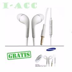 Samsung Handsfree Earphone For All Smartphone In-Ear Jack 3,5mm Flat Kabel BUY 1 GET 1