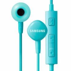 Samsung Handsfree For Samsung HS130 Headset / Earphone ORI For All Phone Model Stereo - Blue / Biru