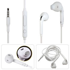 Top 10 Samsung Handsfree Headphone Galaxy Note7 S7 S7 Edge In Ear Earphone Control W Mic Original Putih Online