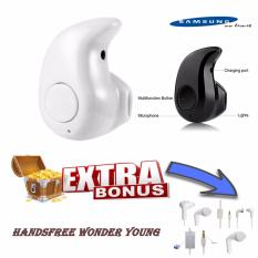 Samsung Handsfree Wireless Bluetooth (Keong) + Free Handsfree Wonder Young