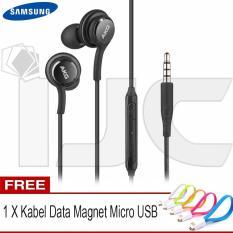 Rp 55.000. Samsung Headset / Handsfree Original for samsung S8 AKG Super Bass 3.5mm + Free Kabel Data Magnet ...