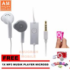 Tips Beli Samsung Headset Original Handsfree Galaxy Young White Gratis Mp3 Musik Player Microsd