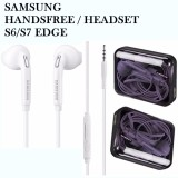 Jual Samsung Headset Handsfree For Galaxy S6 S7 Edge Satu Set