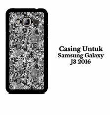 SAMSUNG J3 2016 art pop art concept Hardcase Casing Cover