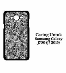 SAMSUNG J7 2015 Case art pop art concept Hardcase Casing Cover