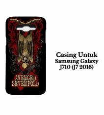 SAMSUNG J7 2016 Case Avenged Sevenfold A7X Hardcase Casing Cover