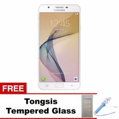 Beli Samsung J7 Prime Ram 3 Gb 4G Lte White Gold Free Tongsis Tempered Glass Seken