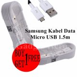 Diskon Besarsamsung Kabel Data Micro Usb 1 5M For Samsung Note 4 Buy 1 Get 1 Free
