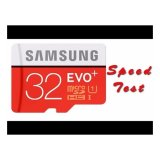 Samsung Memory Card MicroSDHC Evo Plus 32GB / 95 MB/s with Adapter - Merah + iRing Mobile Phone | Lazada Indonesia