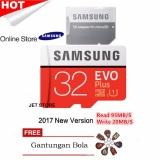 Beli Samsung Memory Card Microsdhc Evo Plus 32Gb 95Mb S Merah Gantungan Bola Random Samsung