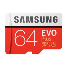 Samsung Micro SD Evo+ 100Mbps 64GB (With Adapter)