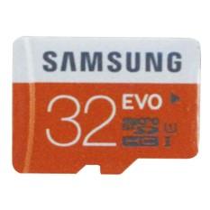 Samsung Mikro SD/TF Ingatan Kartu-Hitam + Oranye (32 GB/Kelas 10)-Internasional