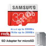 Kualitas Samsung Microsd 32Gb 95Mb S Evo Plus Uhs I Card Samsung