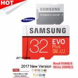 Jual Samsung Microsdhc Evoplus 32Gb 95Mb S With Adapter Merah Kabel Micro Usb Warna Random Samsung Original