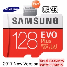 Samsung MicroSDXC EVO Plus Class 10 UHS-3 4K (100MB/s) 128GB with SD Adapter