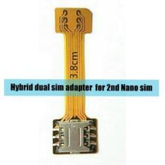 samsung Nano Extender Hybrid Slot SIM Dual SIM Converter Adapter biar dual sim dan sd card bisa aktif semua