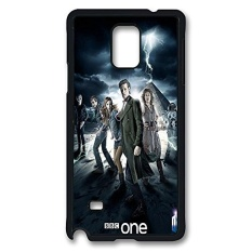 Samsung Note 4 Case, Note 4 Case, Slim Fit Crystal Clear Case Bumper untuk Samsung Note 4 Doctor Who BBC TV Series Absorption Clear Hard Case untuk samsung Note 4-Intl
