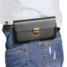 Apple ID 8 tergantung pinggang sarung kulit SAMSUNG note8 pria dan wanita pada sabuk tas ponsel tas pinggang HUAWEI1 bermain 7X tas pinggang lapisan tunggal