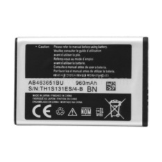Samsung Original Battery AB463651BU BN For Samsung Galaxy S3650 / Corby / F400 / C3322 / Lakota