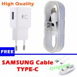 Jual Samsung Original Travel Charger 15W Fast Charging Free Samsung Cable Type C Ori Branded Murah