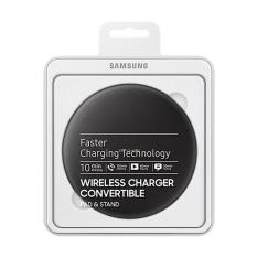 Samsung Original Wireless S8 Fast Charging Convertible Wireless Charger - Black [ BMS 001]