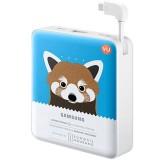 Samsung Powerbank Animal 8400Mah Lesser Panda Original Biru Samsung Diskon
