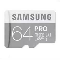 Ulasan Samsung Pro 64Gb 90Mb S Micro Sdxc Class 10 Memory Card Uhs I U3 With Adaptor