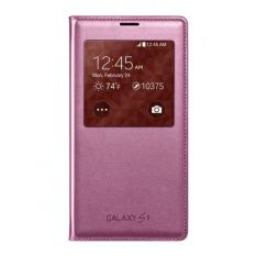 Samsung S View Cover For Galaxy S5 Original - Pink