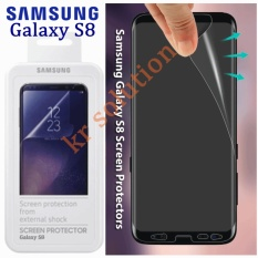 Review Toko Samsung S8 Screen Protection From External Shock Anti Gores Full Clear Screen Protector S8 Original Clear Bening Online