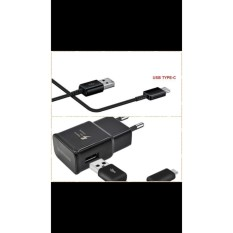 SAMSUNG S8 TYPE C tipe c original asli 100% ori fast charging cas speed casan adaptor travel Kabel