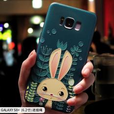 Samsung S8/S8/S8plus Lembut Silikon Semua Termasuk Pelindung Lengan Tali Penyandang Handphone Cangkang