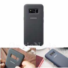 Diskon Samsung Silicone Cover For Galaxy S8 Original Silky And Soft Touch Protection From External Shock Dark Grey Dki Jakarta