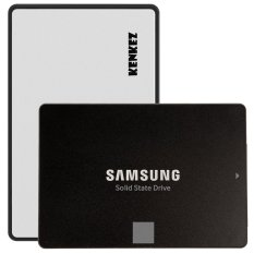 Samsung SSD 850 EVO 250GB with SSD External Case USB 3.0 Super High Speed - Silver