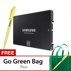 Toko Samsung Ssd 850 Evo 500Gb 2 5 Inch Sata3 Powered By 3D V Nand Technology Gratis Go Green Bag Pen Samsung