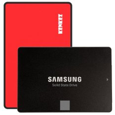 Samsung SSD 850 EVO 500GB with SSD External Case USB 3.0 Super High Speed - Merah