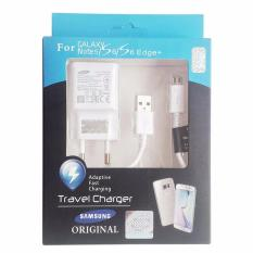 Beli Samsung Travel Adapter Charger For Samsung Note 4 5 S6 S7 Edge Original Cicilan