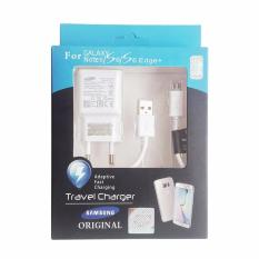 Jual Samsung Travel Adapter Charger For Samsung Note 4 5 S6 S7 Edge Original Baru