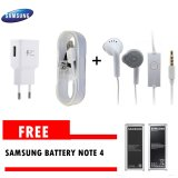 Beli Samsung Travel Charger 15W Galaxy Note 4 Fast Charging Original Samsung Handsfree Young Gratis Battery Note 4 Samsung Online