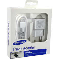 Jual Samsung Travel Charger For Galaxy Note 3 Original Putih Grosir