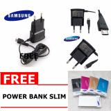 Jual Samsung Travel Charger For Galaxy Young Wonder J1 J1 Ace Free Power Bank Slim Import