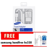Review Toko Samsung Travel Charger Galaxy Note 3 S5 10 6W Free Handsfree Samsung Hs 330 Online