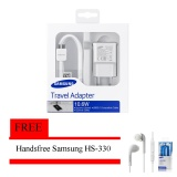 Harga Samsung Travel Charger Galaxy Note 3 S5 10 6W Free Handsfree Samsung Hs 330 Termurah