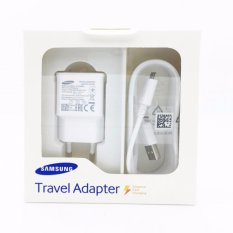 Beli Samsung Travel Charger Original For Galaxy Series Adapter Micro Usb Cable Putih Online Murah